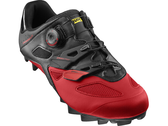 Mavic Crossmax Elite Shoes Men Black/Fiery Red/Black
